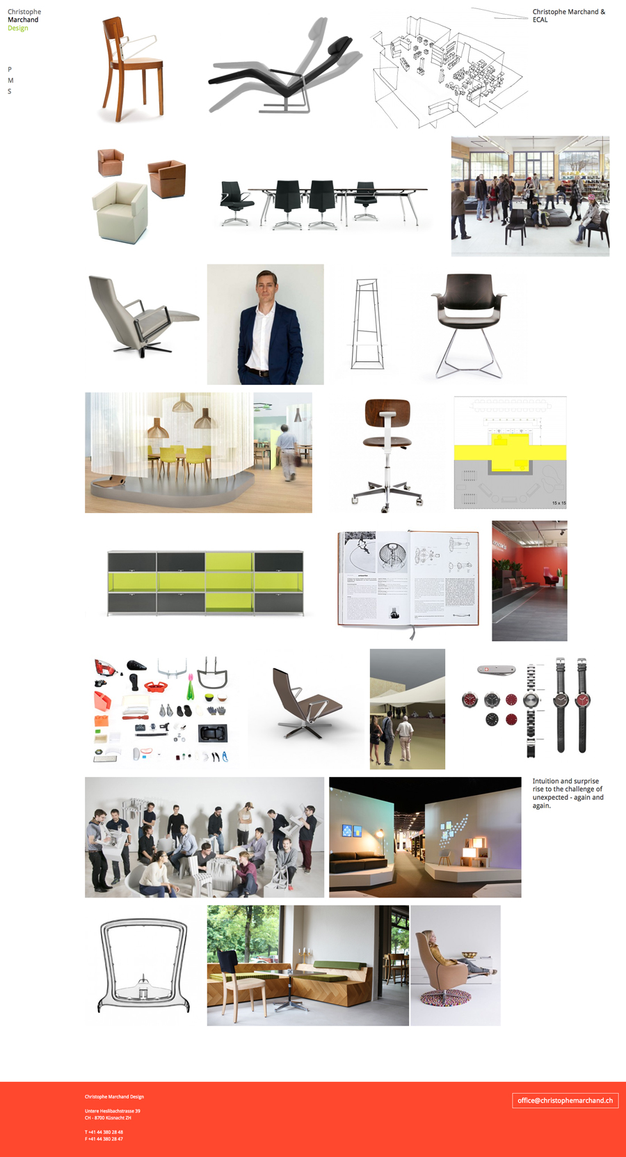 Christophe marchand about blank design office for Product design agency